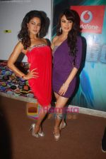 Aanchal Kumar, Veena Malik at Big Boss season 4 grand finale on 8th Jan 2011 (3).JPG