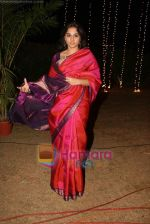 Vidya Balan at Sandesh Mayekar_s daughter Shivani_s wedding reception in Mahalaxmi Race Course on 8th Jan 2011 (6).JPG