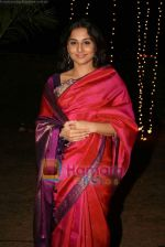 Vidya Balan at Sandesh Mayekar_s daughter Shivani_s wedding reception in Mahalaxmi Race Course on 8th Jan 2011 (8).JPG