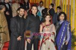 Imran Khan, Avantika Malik, Aamir Khan, Kiran Rao at Imran and Avantika_s Wedding in Bandra, Mumbai on 10th Jan 2011 (3).JPG