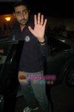 Abhishek Bachchan leave for Zee Awards in Singapore in Mumbai Airport on 12th Jan 2011 (30).JPG