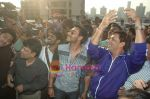 Ajay Devgan, Madhur Bhandarkar at Dil to Baccha Hai Ji kite flying event in Big FM, Andheri on 12th Jan 2011 (3).JPG
