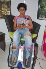 Gul Panag promote Turning 30 in a spa at Bandra, Mumbai on 12th Jan 2011 (12).JPG