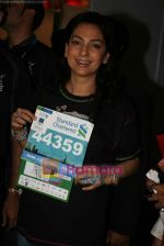 Juhi Chawla at Standard Chartered Mumbai Marathon event in Mumbai on 12th Jan 2011 (17).JPG