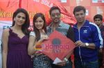 Kumar Mangat Pathak, Shraddha Das, Shazahn Padamsee, Ajay Devgan, Madhur Bhandarkar at Dil to Baccha Hai Ji kite flying event in Big FM, Andheri on 12th Jan 2011 (14).JPG