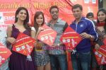 Kumar Mangat Pathak, Shraddha Das, Shazahn Padamsee, Ajay Devgan, Madhur Bhandarkar at Dil to Baccha Hai Ji kite flying event in Big FM, Andheri on 12th Jan 2011 (36).JPG