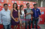 Kumar Mangat Pathak, Shraddha Das, Shazahn Padamsee, Ajay Devgan, Madhur Bhandarkar at Dil to Baccha Hai Ji kite flying event in Big FM, Andheri on 12th Jan 2011 (9).JPG