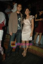 Sasha Goradia, Jagrat Desai at Tere Mere Phere film launch in Dockyard on 12th Jan 2011 (39).JPG