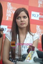 Shazahn Padamsee at Dil to Baccha Hai Ji kite flying event in Big FM, Andheri on 12th Jan 2011 (31).JPG