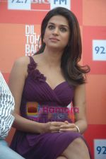 Shraddha Das at Dil to Baccha Hai Ji kite flying event in Big FM, Andheri on 12th Jan 2011 (23).JPG