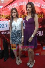 Shraddha Das, Shazahn Padamsee at Dil to Baccha Hai Ji kite flying event in Big FM, Andheri on 12th Jan 2011 (5).JPG