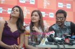 Shraddha Das, Shazahn Padamsee, Ajay Devgan at Dil to Baccha Hai Ji kite flying event in Big FM, Andheri on 12th Jan 2011 (30).JPG