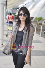 Aanchal Kumar spotted at airport in Mumbai Airport on 14th Jan 2011 (12).JPG