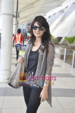 Aanchal Kumar spotted at airport in Mumbai Airport on 14th Jan 2011 (9).JPG