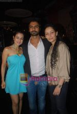 Amisha Patel, Ashmit Patel, Manyata Dutt at Ashmit Patel_s birthday bash in Veda on 13th Jan 2011 (2).JPG