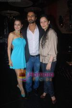 Amisha Patel, Ashmit Patel, Manyata Dutt at Ashmit Patel_s birthday bash in Veda on 13th Jan 2011 (4).JPG