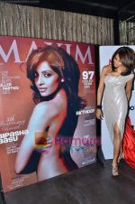 Bipasha Basu at the Maxim cover launch in Hype on 13th Jan 2011 (59).JPG