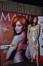 Bipasha Basu at the Maxim cover launch in Hype on 13th Jan 2011 (62).JPG