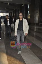 Bobby Deol returns from YPD delhi promotions in Airport, Mumbai on 14th Jan 2011 (3).JPG