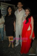 Chitrangda Singh, Arunoday Singh, Aditi Rao Hydari at Yeh Saali Zindagi music launch in Marimba Lounge on 13th Jan 2011 (2).JPG