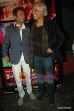 Irrfan Khan, Sudhir Mishra at Yeh Saali Zindagi music launch in Marimba Lounge on 13th Jan 2011 (2).JPG