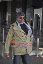Mithun Chakraborty spotted at airport in Mumbai Airport on 14th Jan 2011 (14).JPG