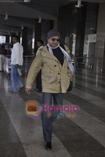 Mithun Chakraborty spotted at airport in Mumbai Airport on 14th Jan 2011 (2).JPG