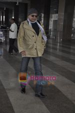 Mithun Chakraborty spotted at airport in Mumbai Airport on 14th Jan 2011 (3).JPG