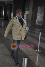 Mithun Chakraborty spotted at airport in Mumbai Airport on 14th Jan 2011 (4).JPG