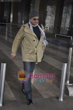 Mithun Chakraborty spotted at airport in Mumbai Airport on 14th Jan 2011 (5).JPG