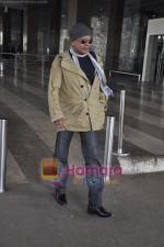 Mithun Chakraborty spotted at airport in Mumbai Airport on 14th Jan 2011 (6).JPG