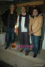 Sudhir Mishra, Prakash Jha at Yeh Saali Zindagi music launch in Marimba Lounge on 13th Jan 2011 (167).JPG
