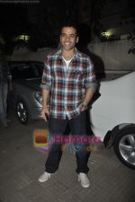 Tusshar Kapoor at Yamla Pagla Deewana screening by Rumi Jaffrey in Ketnav, Mumbai on 13th Jan 2011 (15).JPG
