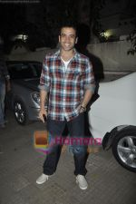 Tusshar Kapoor at Yamla Pagla Deewana screening by Rumi Jaffrey in Ketnav, Mumbai on 13th Jan 2011 (16).JPG