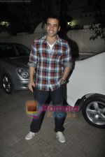 Tusshar Kapoor at Yamla Pagla Deewana screening by Rumi Jaffrey in Ketnav, Mumbai on 13th Jan 2011 (19).JPG