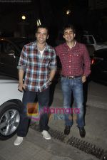 Tusshar Kapoor at Yamla Pagla Deewana screening by Rumi Jaffrey in Ketnav, Mumbai on 13th Jan 2011 (5).JPG