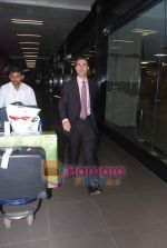 leave for Singapore in International Airport, Mumbai on 13th Jan 2011.JPG