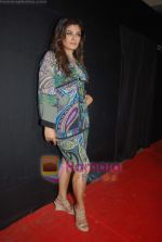 Raveena Tandon at Day 1 of Chivas Studiio in Mahalaxmi Race Course on 14th Jan 2011 (11).JPG