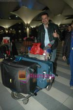 Boman Irani arrive from Singapore in Airport on 11th Jan 2011 (2).JPG