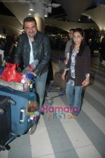 Boman Irani arrive from Singapore in Airport on 11th Jan 2011 (4).JPG