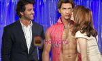 Hrithik Roshan, Suzanne Roshan at Madame Tussuads London on 20th Jan 2011.jpg