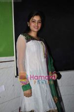 Navneet Kaur at mass marriage at Amravati announcement in the press club on 24th Jan 2011 (14).JPG