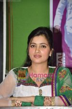 Navneet Kaur at mass marriage at Amravati announcement in the press club on 24th Jan 2011 (22).JPG