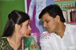 Navneet Kaur at mass marriage at Amravati announcement in the press club on 24th Jan 2011 (26).JPG