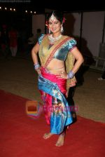 Resham Tipnis at Mi Marathi Awards in Andheri Sports Complex on 29th Jan 2011 (5).JPG