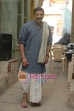 Sunny Deol look for Mohalla 80, a film by Dr. Chandraprakash Dwivedi in Filmistan on 4th Feb 2011 (5).JPG