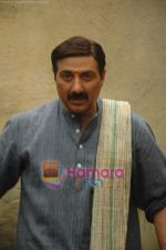 Sunny Deol look for Mohalla 80, a film by Dr. Chandraprakash Dwivedi in Filmistan on 4th Feb 2011 (8).JPG