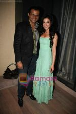Siddharth Kannan, Madhuri Bhattacharya at Yamla Pagla Deewana success party in Novotel on 6th Feb 2011 (2).JPG