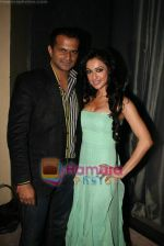 Siddharth Kannan, Madhuri Bhattacharya at Yamla Pagla Deewana success party in Novotel on 6th Feb 2011 (27).JPG