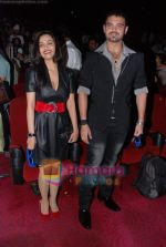 Twinkle Bajpai, Mahakshay Chakraborty at Vikram Bhatt_s Haunted 3-d first look in PVR on 7th Feb 2011 (2).JPG